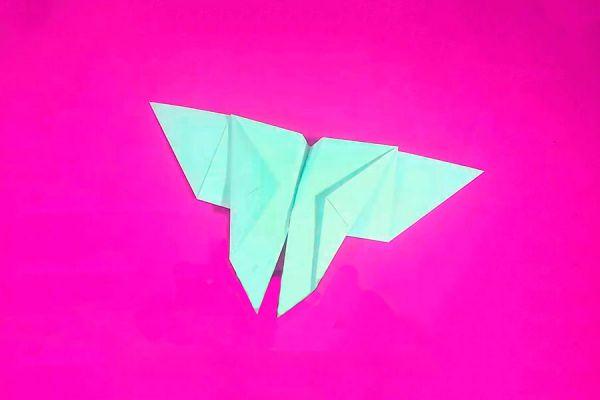 Cómo hacer una mariposa de papel