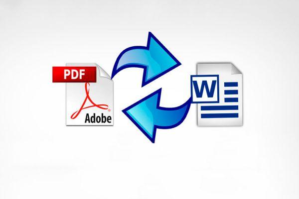 Cómo convertir archivos PDF a Word