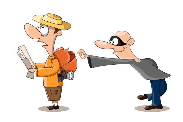 Tips para evitar robos durante un viaje. Cómo prevenir robos durante las vacaciones. Claves para prevenir robos en un viaje