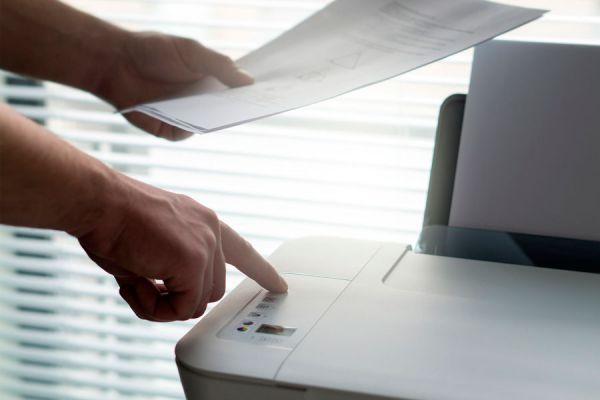 Una empresa ecológica debe reducir el uso de la impresora