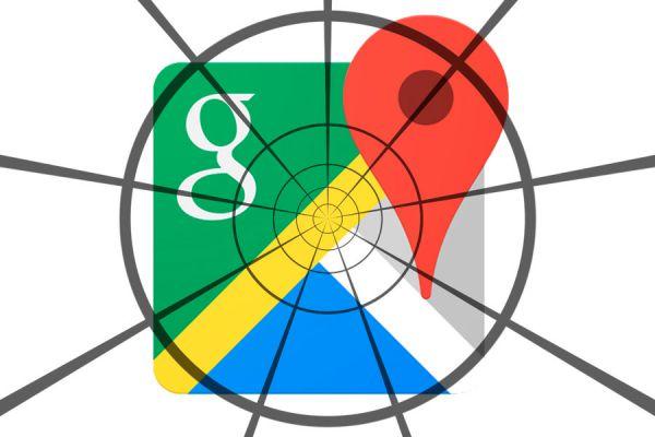 Búsqueda por coordenadas en Google Maps. Cómo hacer búsquedas de lugares por coordenadas. cómo buscar en Google Maps