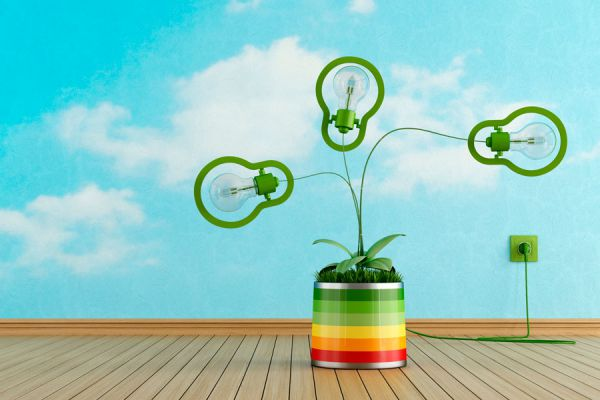Una maceta decorada con una lámpara. Cómo crear una maceta con una lámpara decorativa. Ideas de decoración: tiesto con lampara
