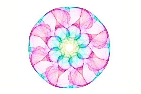 Meditación simple con mandalas. Cómo hacer una meditación con tus propios mandalas. Técnica de meditación simple usando mandalas