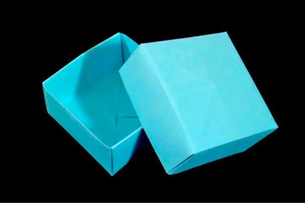 C mo hacer una caja de papel - Cajas forradas de papel ...