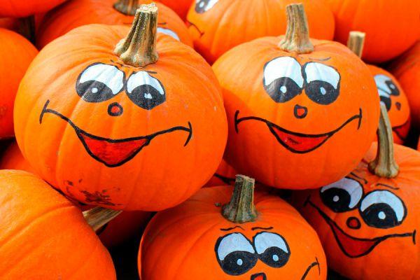 L mparas de calabaza originales para halloween - Como hacer calabazas de halloween ...