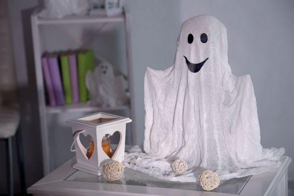 cmo hacer fantasmas para decorar en halloween