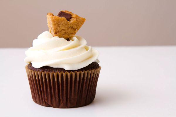 Cómo preparar cupcakes con galletas Snickerdoodle. Receta de cupcakes Snickerdoodle. Preparación de cupcakes con galletas Snickerdoodle