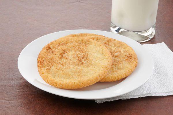 Cucakes caseros de galletas Snickerdoodle. Ingredientes para preparar cupcakes de Snickerdoodle. Galletas Snickerdoodle para hacer cupcakes