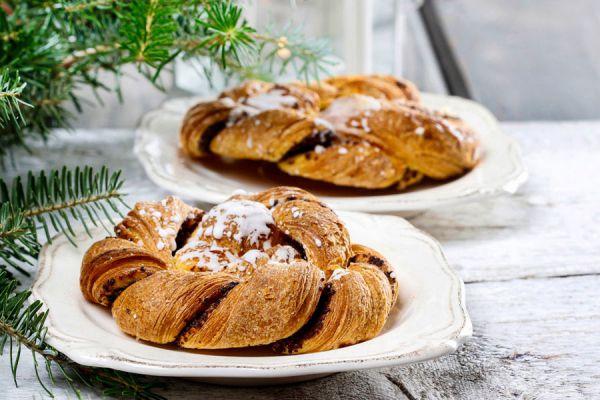 Preparación de un pan estrella relleno y casero. Haz tu propio pan estrella relleno con esta guía.