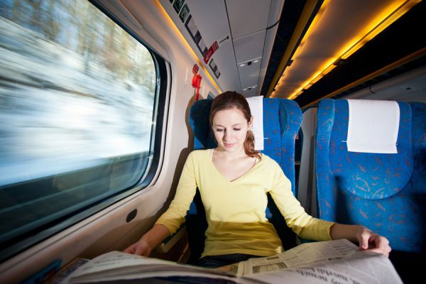 Cómo aprovechar un viaje en  tren. Actividades para hacer durante un viaje en tren. Qué hacer durante un recorrido en tren