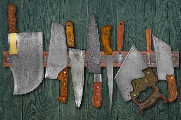 Pasos para crear una tabla con imanes para colgar cuchillos. Cómo hacer una tabla magnetica para ordenar las herramientas.