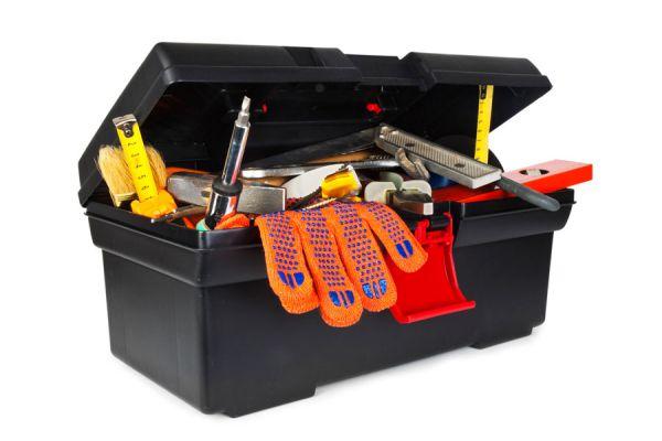 Caja de herramientas completa para el hogar - Caja con herramientas ...