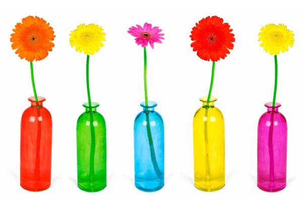 Claves para diseñar un florero. Tips para crear floreros que duren más tiempo. Cómo lucir las flores en un florero
