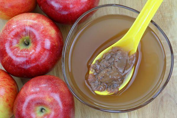 Preparación del vinagre de manzana. cómo hacer vinagre de sidra casero. Receta de vinagre de manzana fácil para hacer en casa