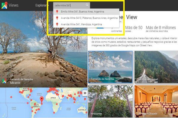 Cómo usar Google Street View. Guía para buscar direcciones en Google Street View. Tips para encontrar una casa en Street View