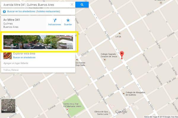 Cómo ver tu casa en Google Street View. Pasos para hallar una ubicacion en Google Street View. Recorre tu casa en Google Street View
