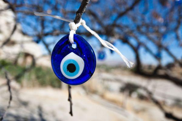 El ojo turco es muy usado para atraer la buena suerte y la fortuna