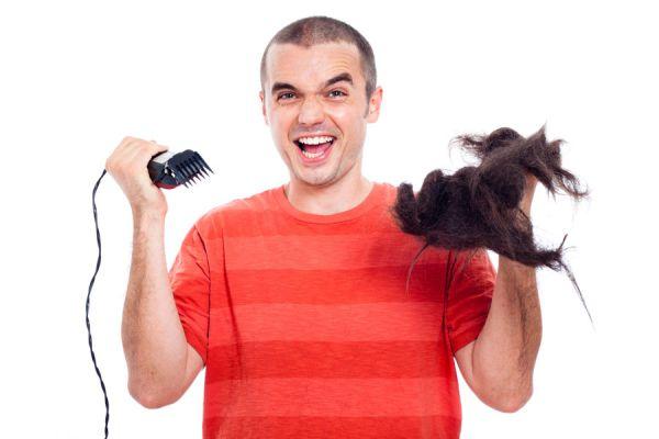 Pasos para afilar la maquinita de cortar pelo. Procedimiento para afilar la maquinita de cortar el cabello. ç
