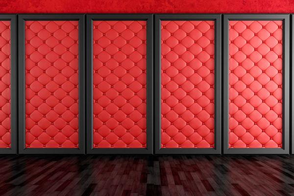 Método para tapizar muros y paredes. 10 pasos para tapizar un muro. Idea para la decoración de paredes con telas. Aprende a tapizar una  pared