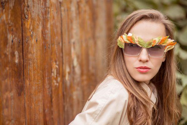 Tips para decorar las gafas. Ideas originales para decorar las gafas de sol o de lectura. Cómo decorar marcos de anteojos de sol