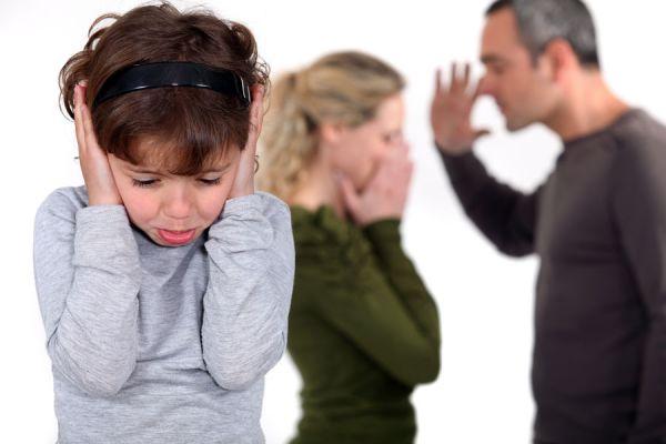 Tips para saber cómo actuar frente a los niños durante un divorcio. Cómo ayudar a los niños ante la separación de sus padres.