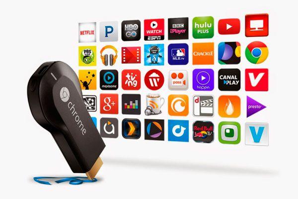Guía de aplicaciones gratuitas par chromecast. 5 aplicaciones gratis para chromecast. Aprovecha chromecast con estas aplicaciones