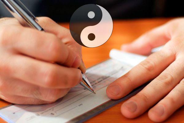 Consejos del Feng Shui para el mes de agosto. Ritual del Feng Shui para hacer en agosto. Ritual del cheque de la riqueza para hacer en agosto