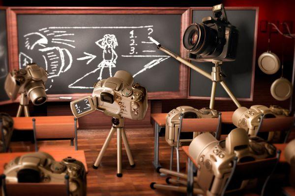 Cursos gratis de fotografía online. Páginas web para recibir cursos de fotografía. Sitios web con tutoriales de fotografía