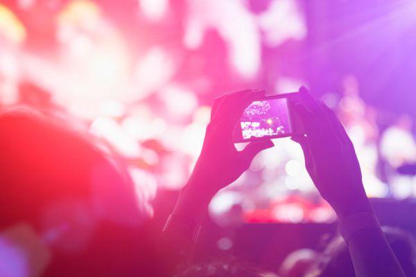 Apps móviles sobre conciertos musicales. Aplicaciones útiles para grabar recitales y conocer próximos shows. Las mejores aplicaciones de conciertos