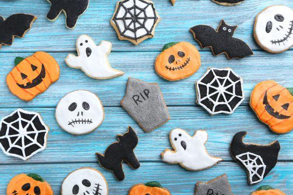 Ideas para decorar las galletas de Halloween. Cómo hacer galletas fáciles de Halloween. Galletas rápidas para la noche de brujas