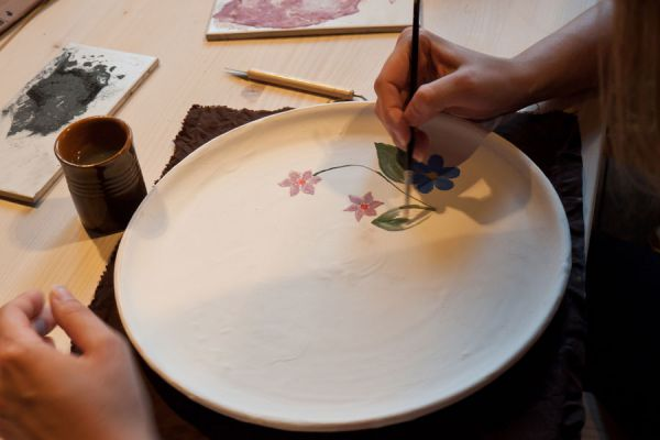 C mo decorar platos de vidrio - Como decorar platos ...