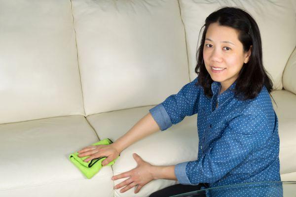 Cómo limpiar las superficies de microfibra. qué tipo de microfibra tiene tu sofa? Claves para la limpieza de la microfibra