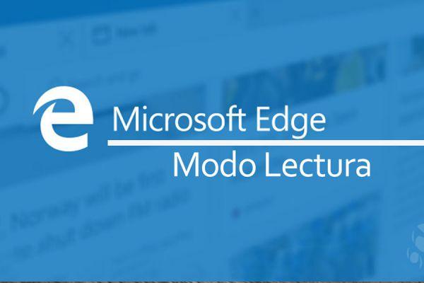 Como leer sin distracciones con microsoft edge. Activar el modo lectura en el navegador. Funciones de microsoft edge, modo lectura