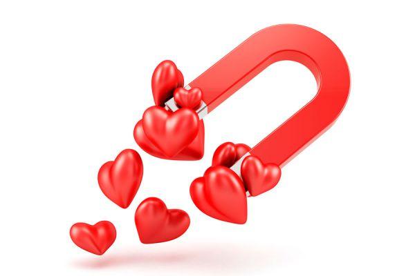 Los tipos de atracción amorosa. Cómo funciona la atracción física, intelectual, etc. Formas de tener atracción por alguien