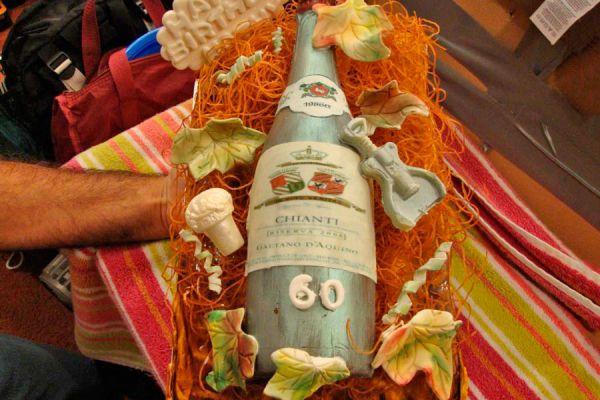Receta para hacer un pastel con forma de botella. Cómo preparar un pastel dentro de una botella. Dos formas de hacer pasteles con forma de botella