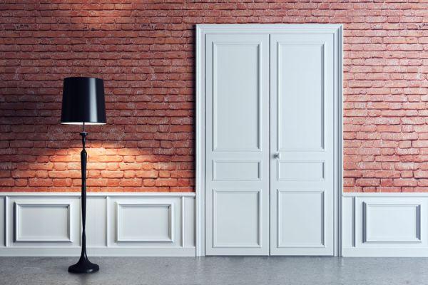 C mo decorar puertas con molduras - Molduras para puertas ...