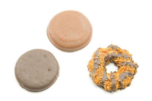 Galletas samoas caseras. Pasos para hacer samoas en casa. Cómo preparar galletas samoas caseras.
