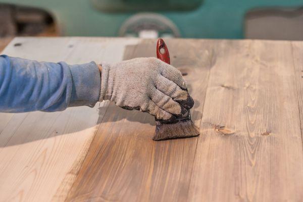C mo te ir madera con t - Tinte para madera casero ...