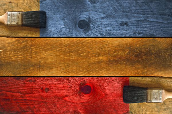 Cómo teñir maderas con vegetales y frutas. Cómo preparar tintes naturales para madera. Técnica para teñir madera con tintes naturales