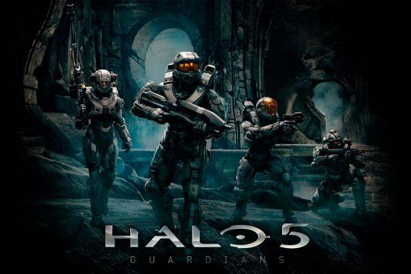 Portada de Halo 5.