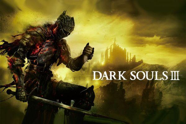 Portada de Dark Souls III.