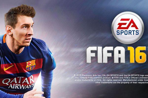Portada del FIFA 16.