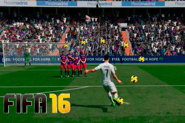 Tiros libres y mejores pateadores del FIFA 16.