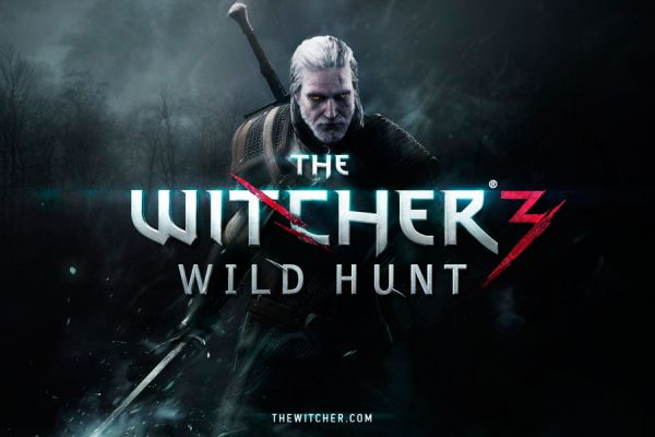 Portada del juego The Witcher 3: Wild Hunt.