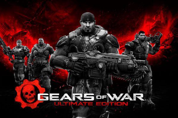 Portada del juego Gears of War: Ultimate Edition.
