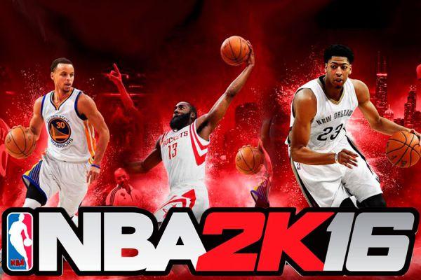 Portada del juego NBA 2K16.