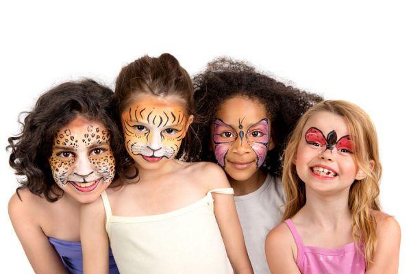 Ingredientes para hacer pintura facial para niños. Receta de pintura facial para niños casera. Cómo fabricar pintura facial casera