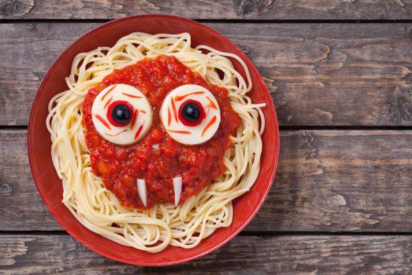 Ideas para crear un menú infantil en halloween. Recetas para un menú infantil en halloween. Comidas para preparar a los niños en halloween
