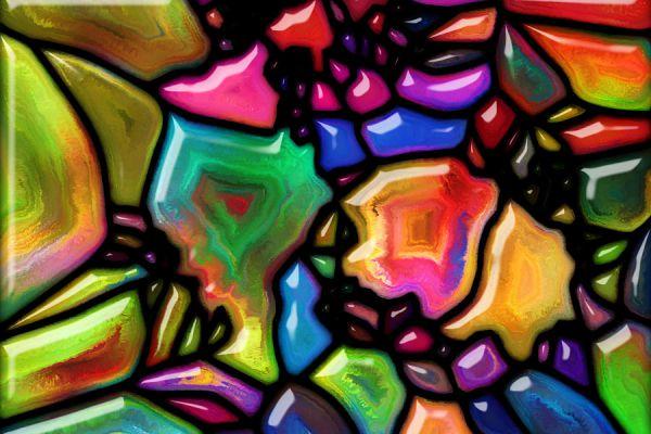 Técnica para colorear vidrios con acrílico. Método para dar color a un vidrio. Cómo colorear ventanas y cristales. Tips para dar color a un vidrio