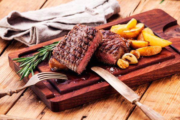 Cómo reconocer los distintos puntos de cocción de la carne. Cuáles son los distintos puntos de cocción de la carne? Puntos de cocción de carnes rojas